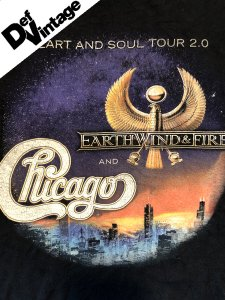 【VINTAGE】Earth Wind & Fire, Chicago Tour Official T-Shirt