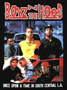 """BOYZ N THE HOOD"" Vintage Style T-Shirt"