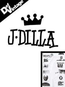 【Def Vintage】Stussy x J Dilla Special Limited Edition T-Shirt