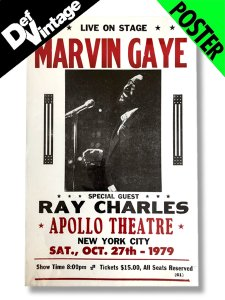【Dead Stock】 Marvin Gaye, Ray Charles