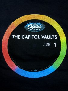 "Capitol Records ""Rainbow Vinyl"" T-Shirt"