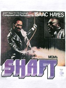 "ISAAC HAYES ""SHAFT"" Official T-Shirt"