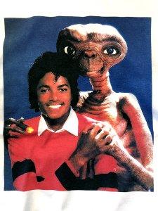 M.J. & E.T. Photo T-Shirt