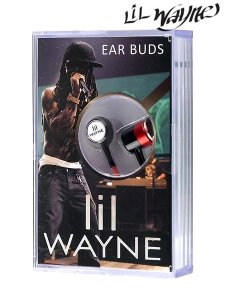 LIL WAYNE EAR BUDS IN CASSETTE BOX