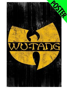 "Wu-Tang Clan ""Vintage Logo"" Official Poster"