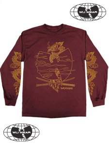 "WU-TANG CLAN ""CROSSED SWORDS"" LS T-Shirt"