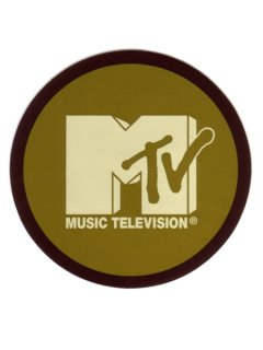 MTV Circle STICKER