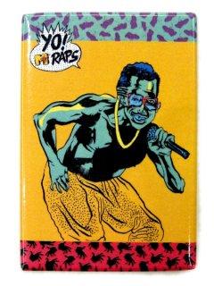 YO! MTV RAPS CARD MAGNET