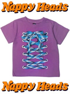 SHOE LACE SUIT / Kids Tee