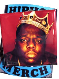"The Notorious B.I.G. ""King Of NY"" Button"
