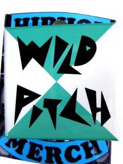 "Wild Pitch ""Classic Logo"" Button"