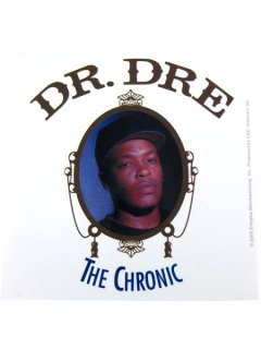 "DR. DRE ""CHRONIC"" Official Sticker"