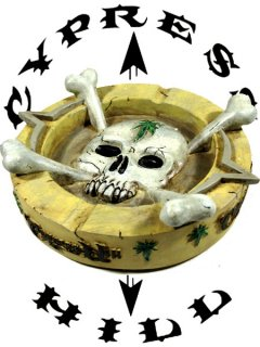 "Cypress Hill ""Skull&Bones"" Ashtray"