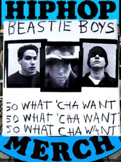 "Beastie Boys ""So What' Cha Want"" Button"