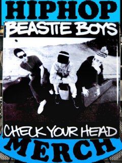 "Beastie Boys ""Check Your Head"" Button"