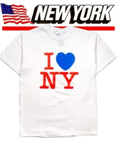 "Pop Color ! ""I Love NY"" Tee"