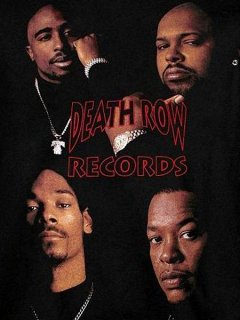 "Welcome to ""Death Row"" Records T-shirt"