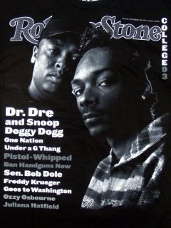 DR.DRE & SNOOP DOGGY DOG Tee