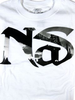 "Nas ""Queens Bridge Logo"" T-Shirt"