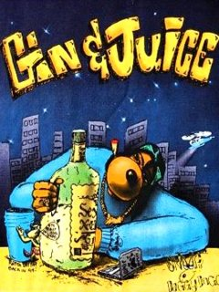 "Snoop Doggy Dogg ""Gin & Juice"" T-Shi"