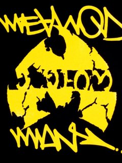 "Wu-Tang Clan ""Method Man"" Logo Tee"