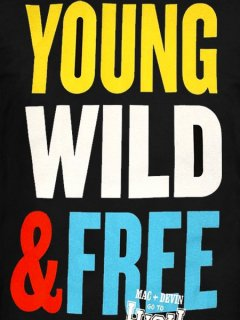 "WIZ KHALIFA & SNOOP DOGG MAC & DEVIN GO TO HIGH SCHOOL ""YOUNG WILD & FREE"" Tee"