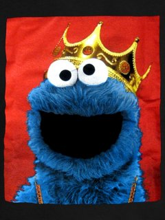 'Biggie Cookie Monster' Tee