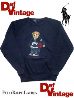 "Polo Ralphlauren ""USA Bear"" Crew Sweat"