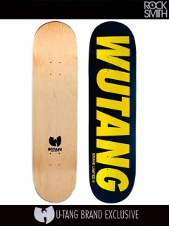 Rocksmith x Wu-Tang Clan - 'WBL - Black' (Skateboard Deck)