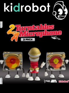Bent World Beats - 'Two Turntables & A Microphone (3 PACK)'