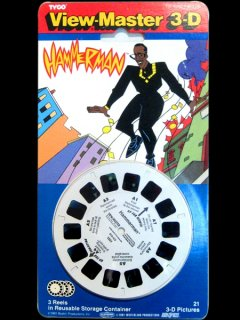"MC Hammer ""Hammerman"" View Master 3D '91 Deadstock"