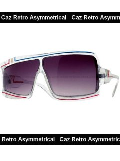 Caz Retro Asymmetrical Sunglass