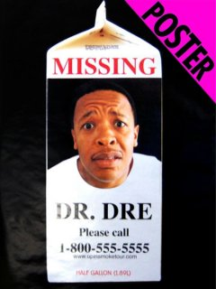 "Dr. DRE ""MISSING"" Poster"