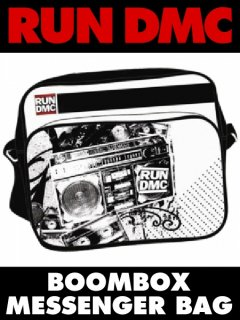 "RUN DMC ""Boombox"" Messenger Bag"