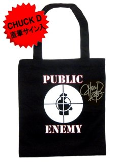 "Public Enemy Exclusive""Chuck D - AUTOGRAPHED"" Tote Bag"
