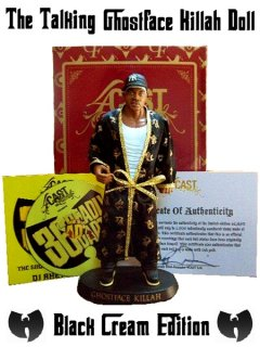 "The Talking ""Ghostface KIllah"" Doll (Black C.R.E.A.M.  Edition)"