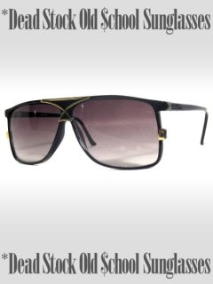 "Dead Stock Old School ""Gold Stads"" Sunglass"