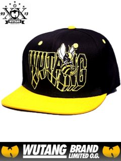 "Rocksmith x Wu-Tang Clan ""Wu Killer Bee"" Snapback Hat"