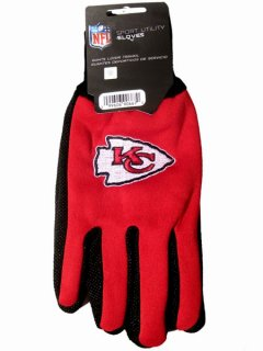 "TWOTONEGLOVES ""KANSAS CITY CHIEFS"" TWO TONE GLOVES"