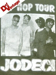'95 HIP HOP TOUR T-Shirt Jodeci, Biggie etc..