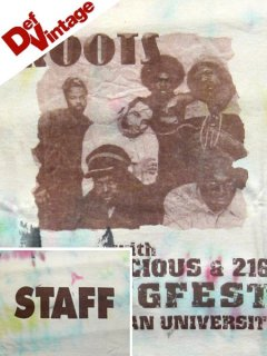 '04 The Roots & Blacklicious Spring Fest T-Shirt