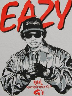 "Jrevolution Easy-E ""Real Mathafuckin G"" T-Shirt"