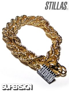 """SUPER SIGN×STILLAS FAT ROPE"" Wallet Chain"