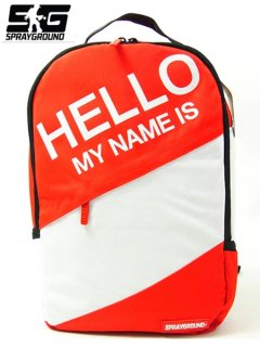 The Hello Backpack in Red