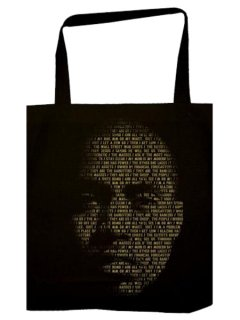 "Nas & Damian Marley ""Lyrical Face"" Tote Bag"