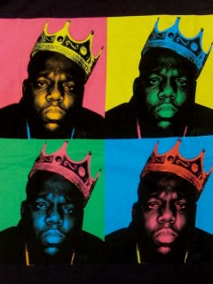 "The Notorious B.I.G. ""Wahol Art"" T-Shirt"