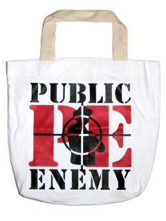 "PUBLIC ENEMY ""BIG"" Tote Bag"