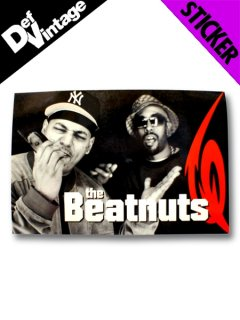 "The Beatnuts ""Take It Or Squeeze It"" Sticker"