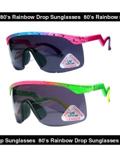 80's Dead Stock Rainbow Drop Sunglasses