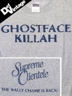 "Ghostface Killah ""Supreme Clientele"" L/S T-Shirt"